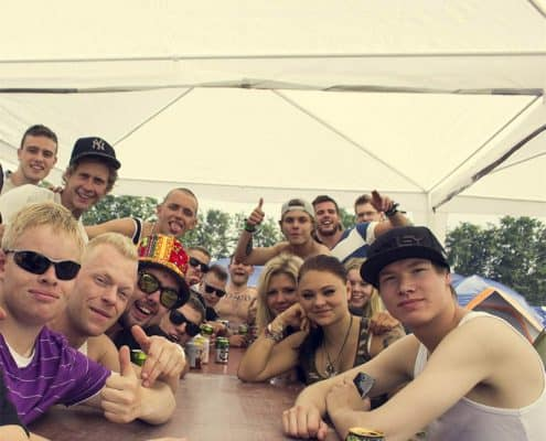 Defqon1 2014 - Campingområdet